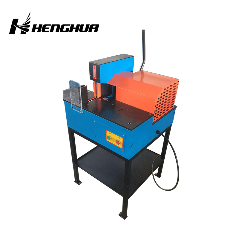 "HS-C10 2""3"" 100mm 2900r/min hydraulic rubber hose cutting machine"