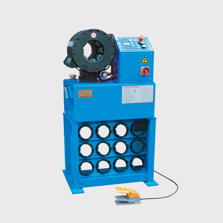 "HF32D 2""6S 6-87mm Hydraulic Hose Crimping Machine"